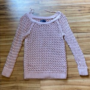 American Eagle knitted long sleeve shirt XS